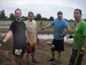 brooks all muddied up